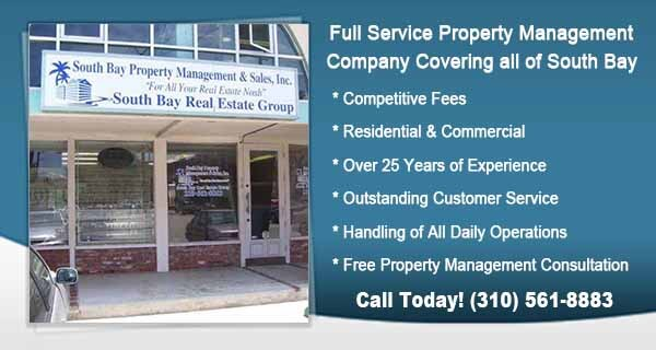 South Bay Property Management in Torrance Ca