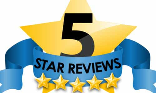 5 Star Reviews Logo