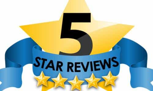 5 Star Reviews Logo